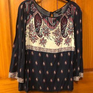 Lucky Brand lightweight blouse